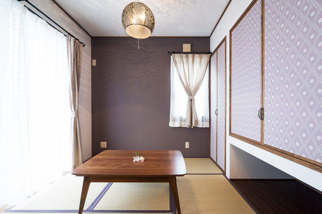 溢れる想いを優しくまとめた家の洋和室